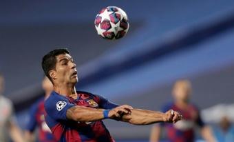 Luis Suárez habló de su salida del Barcelona. AFP