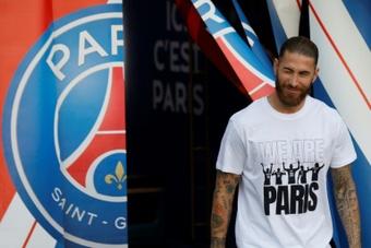 Sergio Ramos pretende jugar lo antes posible. AFP