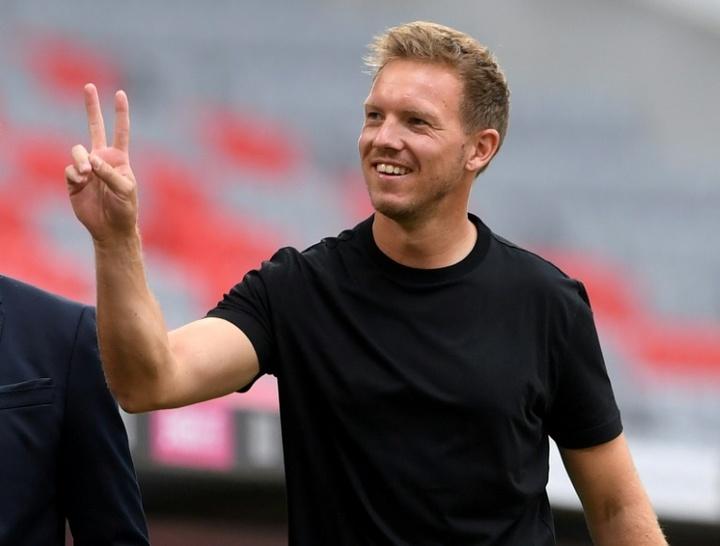 Le formazioni ufficiali di Borussia Monchengladbach-Bayern Monaco. AFP