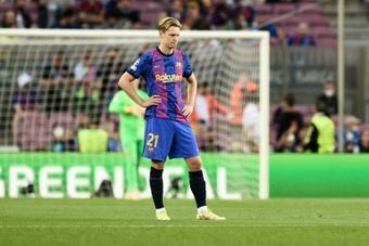 Frenkie de Jong poderia acabar no Bayern ou no City. AFP