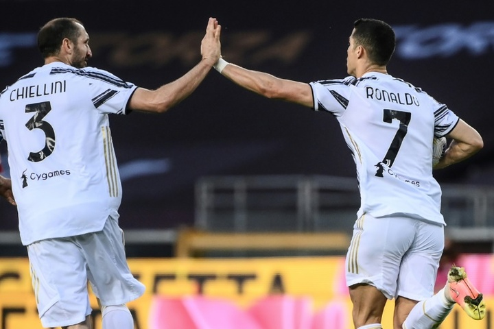 Chiellini thinks that it would have been better for Juve if CR7left at the start of the summer. AFP