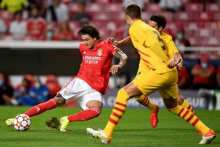 Cinq 'top clubs' s'intéressent à Darwin Nuñez. AFP