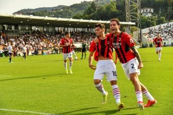 El Milan continuará con su apuesta por la juventud. AFP