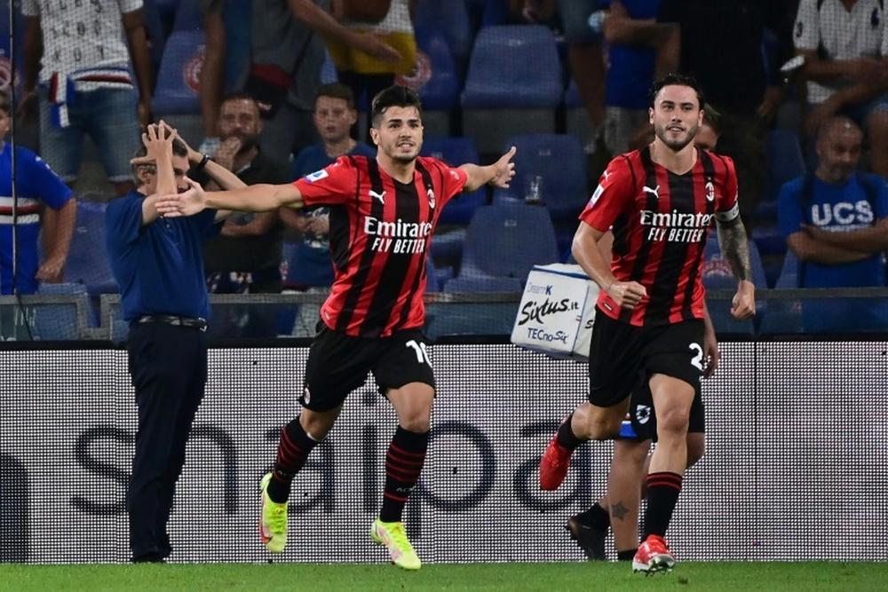 Brahim Diaz splende con il Milan. AFP