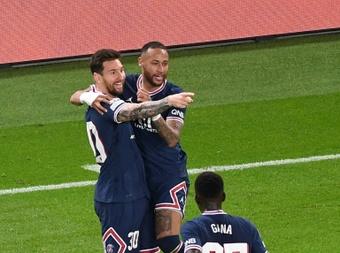 Messi y Neymar podrían marcar la diferencia. AFP