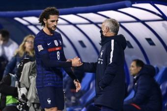 Rabiot et Guendouzi rejoignent l'équipe de France. AFP