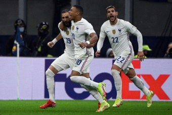 Classement FIFA : la France revient sur le podium. AFP