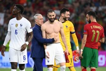 Domenech cree que Francia pudo hacer algo más en la Eurocopa si hubiera sido fiel a su estilo. AFP