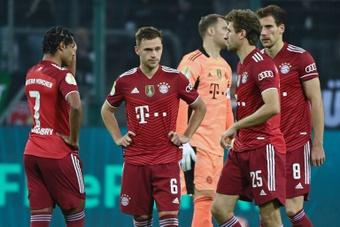 Papelón del Bayern. AFP