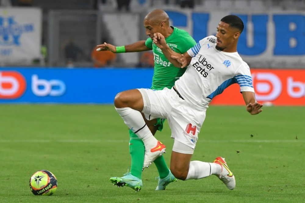 Arsenal wants Saliba back at the Emirates next season. AFP