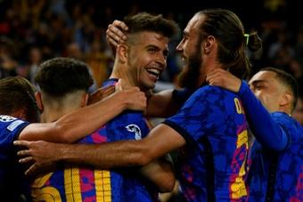 Le Barça assure l'essentiel en Ligue des Champions avant le Clasico. AFP