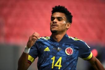 Newcastle vise Luis Diaz. afp