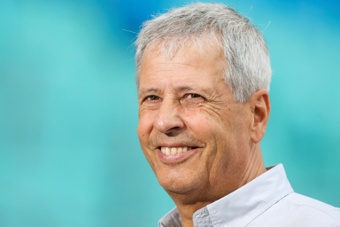 Lucien Favre in pole position to manage Newcastle. AFP