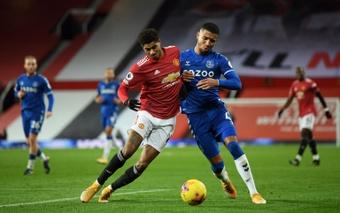 United, Everton, Norwich y Leicester quieren a Ramsay y tratarán de atarlo en enero. AFP