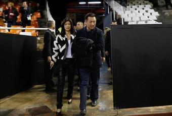 Peter Lim goza de la animadversión de parte del valencianismo. EFE/Archivo
