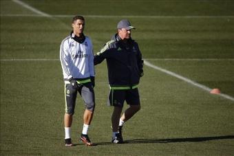 Rafa Benítez encheu Cristiano Ronaldo de elogios. EFE