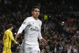 Real Madrid James Rodríguez needs support on and off the pitch. EFE