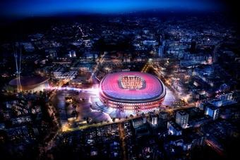 Le financement du projet Espai Barça validé. EFE