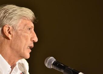 El seleccionador de Colombia destacó a sus futbolistas. EFE