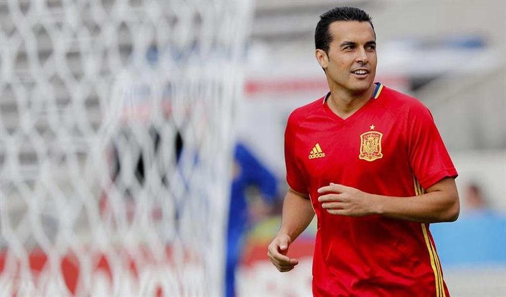 Tras Pedro Rodríguez, Pedri debutará con 'la Roja'. EFE