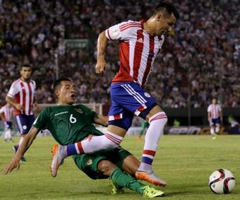 Bolivia se ha llevado los tres puntos con fortuna ante Paraguay. EFE/Archivo