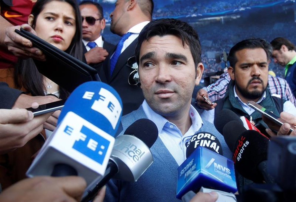The former Barça player Deco will be Barcelona's new scout. EFE