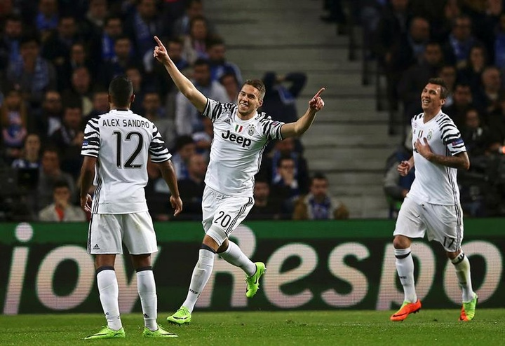 A Juventus poderia embolsar seis milhões de euros com um descarte. AFP