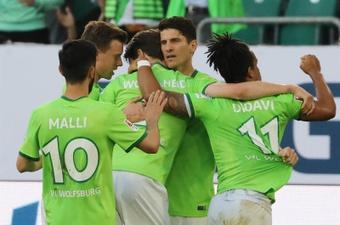 Mario Gomez marcó el único tanto del partido contra el Braunschweig. EFE