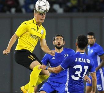 Alashkert y Kairat Almaty, frente a frente por progresar en la Europa League. EFE