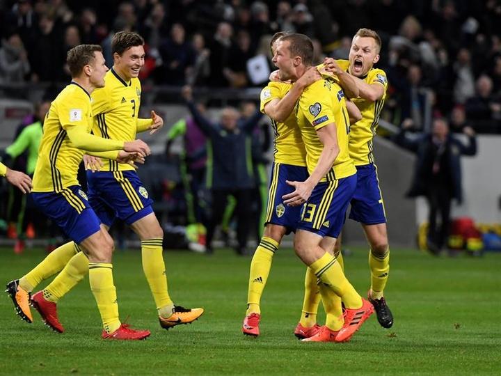 Jakob Johansson tocó techo con su gol a Italia en 2017. EFE/Archivo