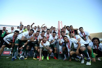 De ganar la Copa y clasificarse a la Libertadores... EFE