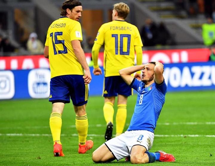 Alessandro Florenzi forfait face à la Suisse. afp
