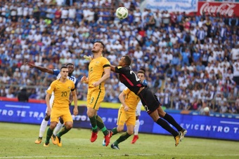Australia hizo historia al vencer a Omán. EFE/Archivo