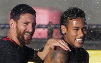Neymar deseja voltar a brilhar.EFE