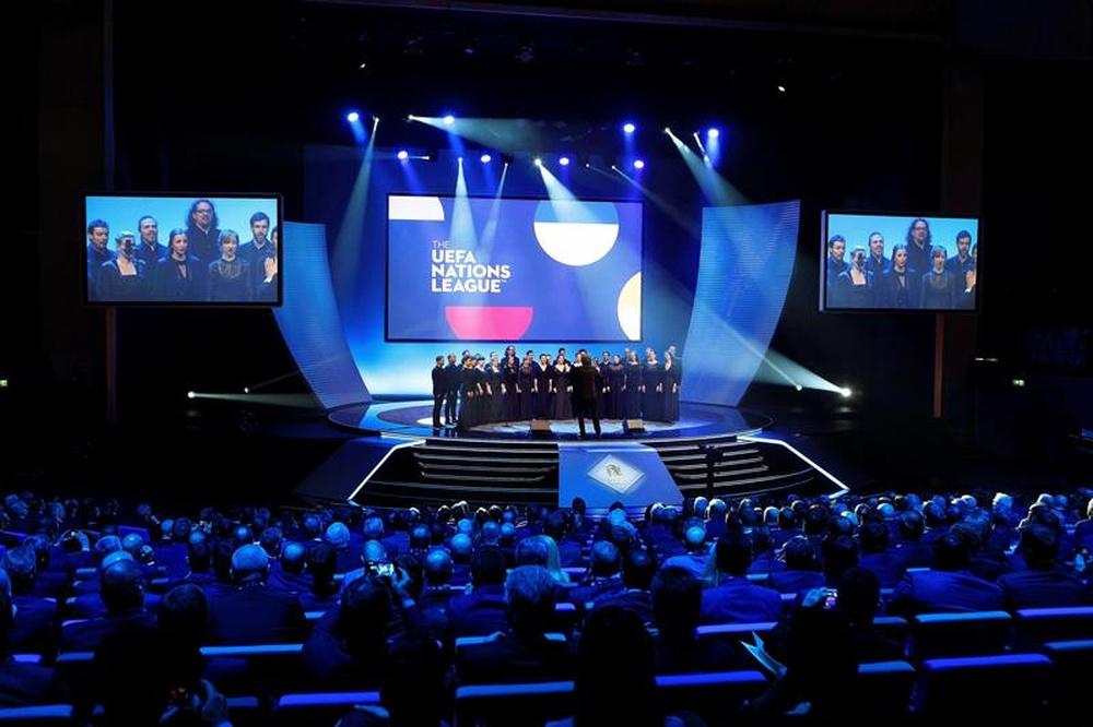 O campeão da Liga das Nações receberá 10,5 milhões de euros. AFP