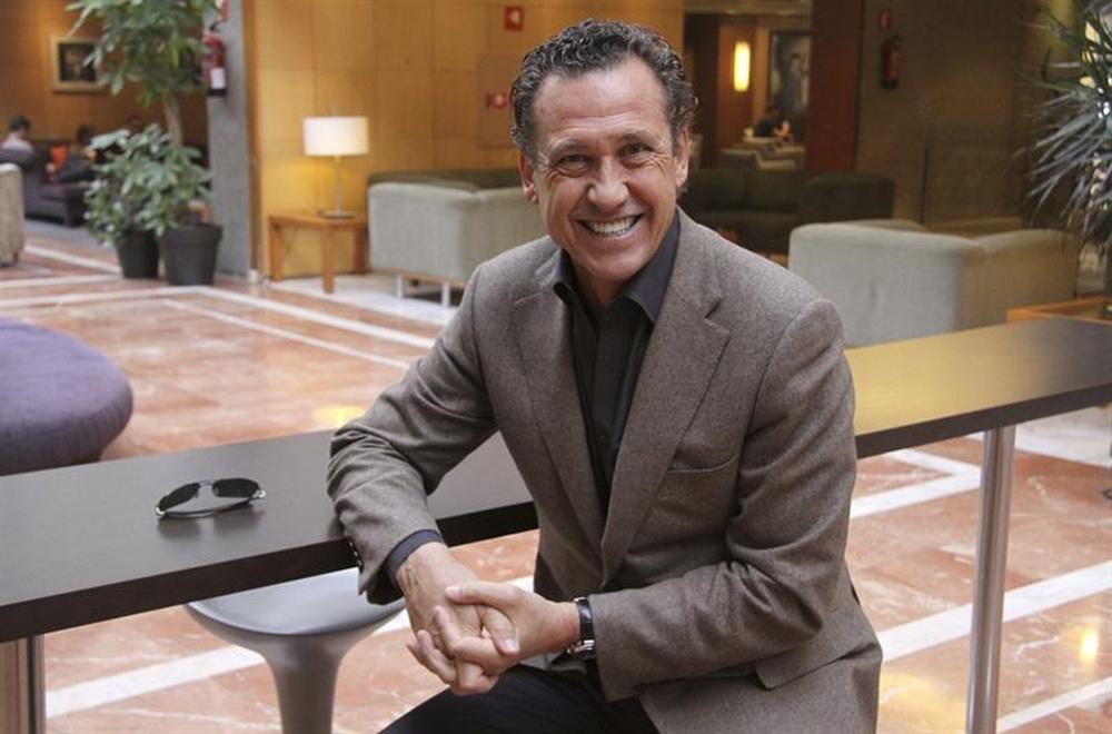 Jorge Valdano está convencido de que Raúl será un gran entrenador. EFE/Archivo