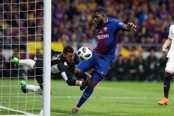 Samuel Umtiti s'est confié à 'Mundo Deportivo'. EFE