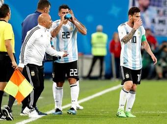 Sampaoli conoce muy bien a Leo Messi. EFE