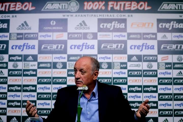 Officiel : Scolari de retour au Grêmio. efe