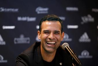 Márquez repasó su etapa en el Barcelona. EFE