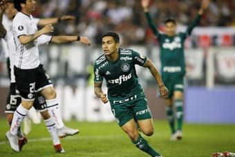 Com alma copeira, o Palmeiras é o primeiro finalista da Libertadores 2021. AFP