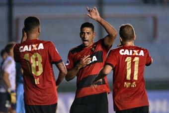 Sport Recife empató con RB Bragantino. EFE