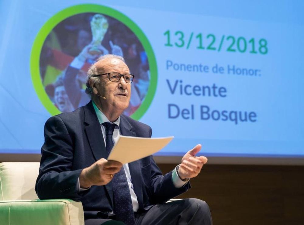 Tras su retirada, Del Bosque sigue acumulando premios. EFE