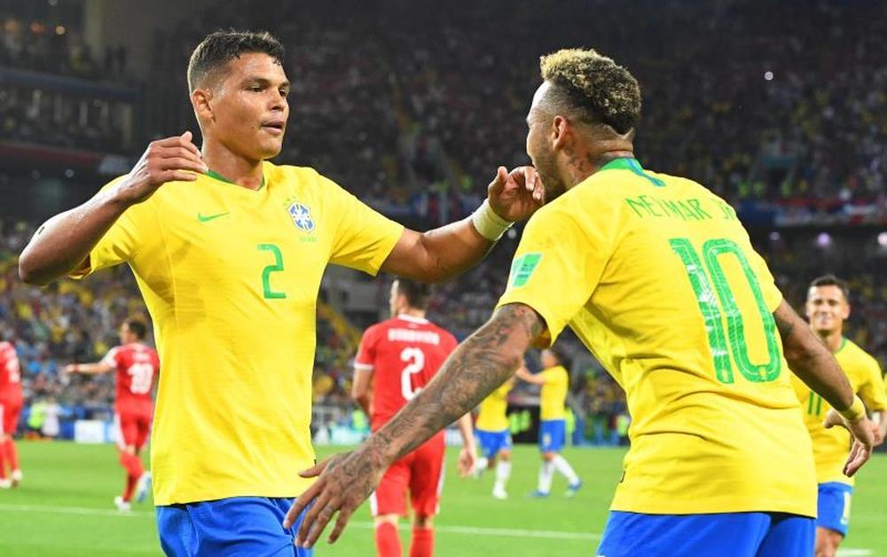 Thiago Silva défend Neymar face aux critiques. EFE