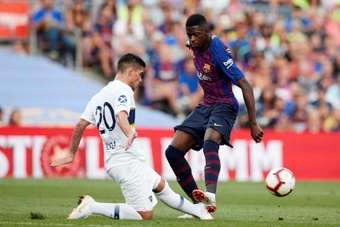 Barça y Boca se enfrentará en homenaje al 'Pelusa'. EFE