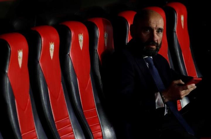 Monchi ya prepara la plantilla del Sevilla para la 2021-22. EFE/Archivo