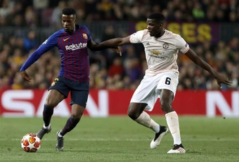 Barca to drop out of the list for Pogba. EFE