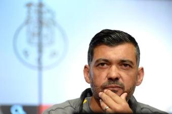 Sérgio Conceiçao confía en la continuidad de Luis Díaz. EFE