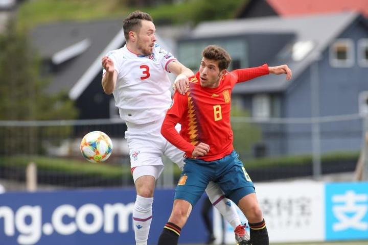 Sergi Roberto remplace Brais Mendez dans la liste de la Roja. EFE