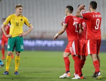 Serbia consigue una victoria clave frente a Luxemburgo. EFE